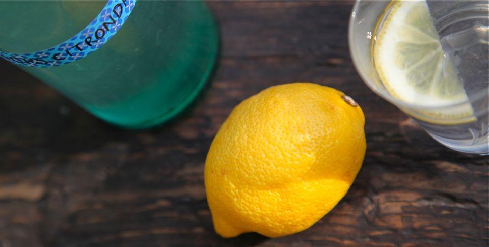 citrondricka utan citronsyra