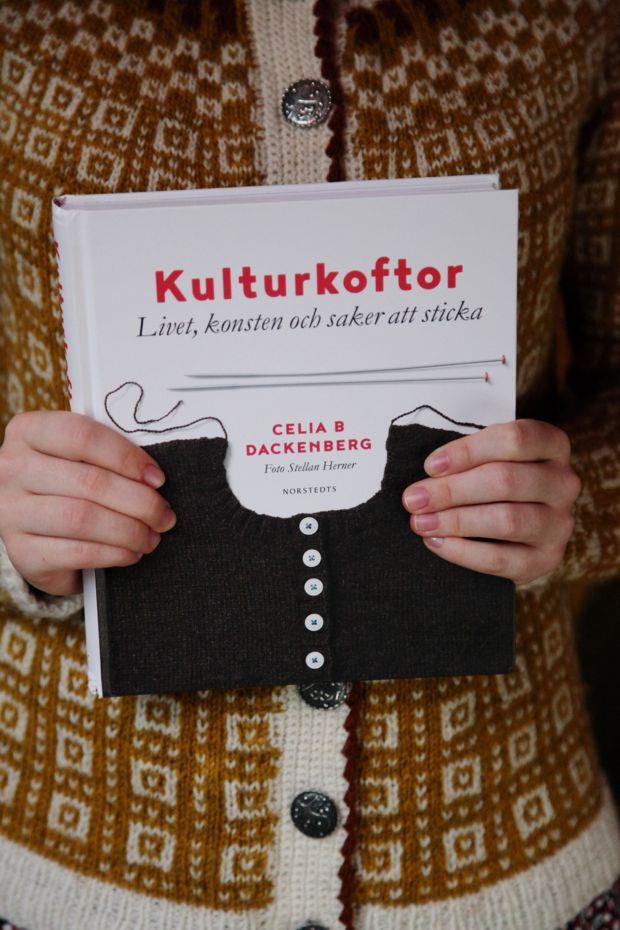 Kulturkoftor : livet, konsten och saker att sticka av Celia B Dackenberg (Bok)